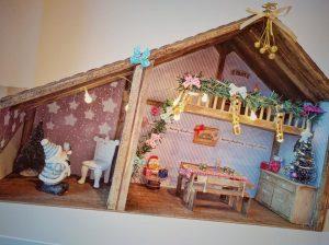 Noel 2016 - Une jolie décoration achetée sur la marché de Noël d'Anthisnes