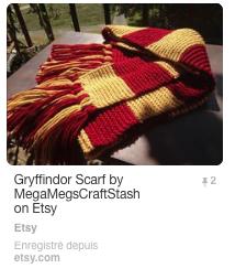Une écharpe Harry Potter