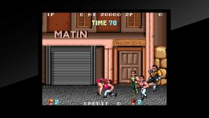 Arcade Archives : Double Dragon - PS4 (Tecnos, 1987 - 2015)