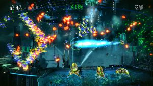 Resogun - PS4 (Housemarque, Climax, 2013)