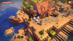 Oceanhorn : Monsters on uncharted seas - PS4 (Cornfox & Bros. 2013)