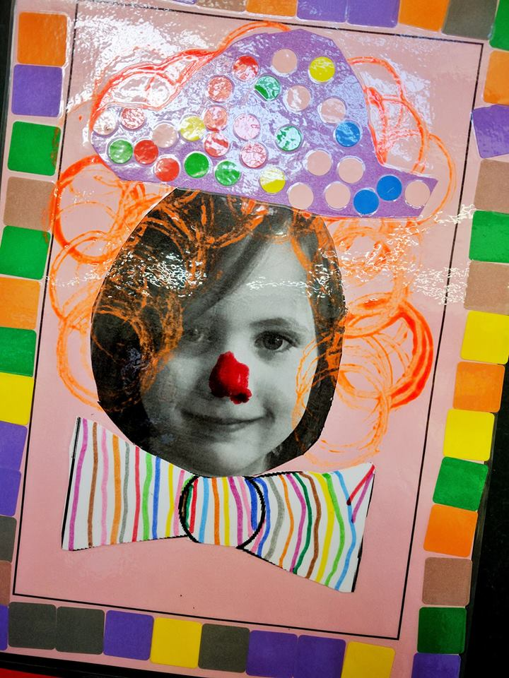 Juliette petit clown