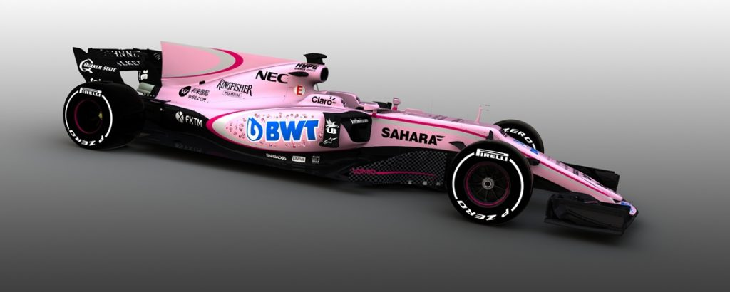 F1 2017 - Force India Mercedes