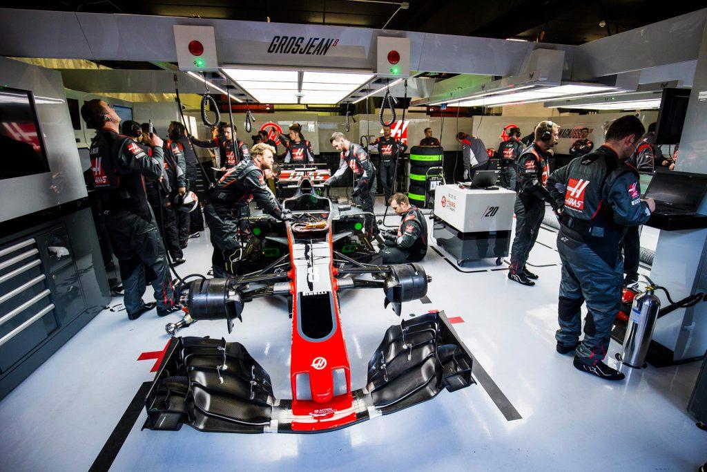 F1 2017 - Haas Ferrari