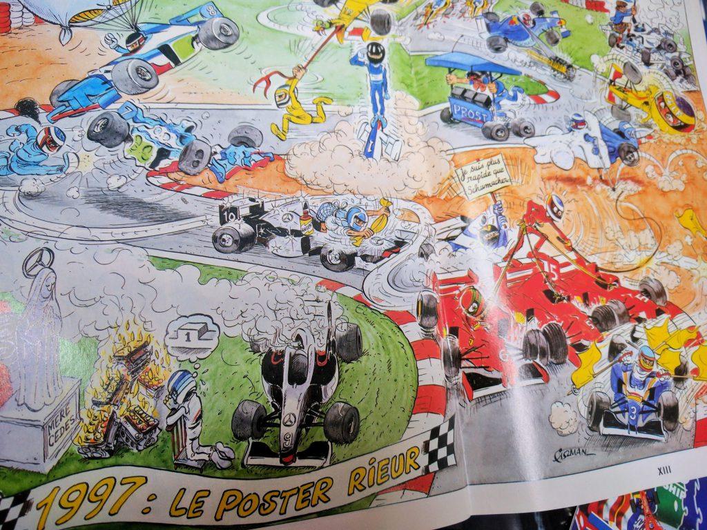 1997 - AutoHebdo - Saison Formule 1 - BD