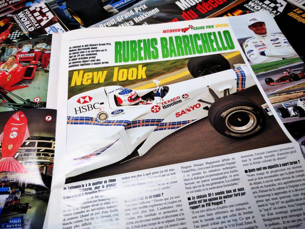 Grand Prix Magasine - Stewart GP - 1997