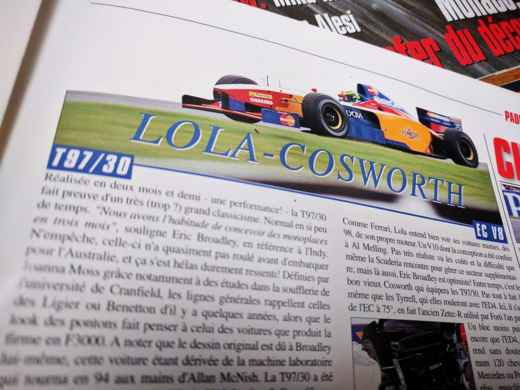 1997 - Lola Ford - Grand Prix Spécial - 1997