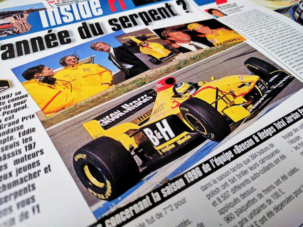 1997 - Jordan Peugeot - Benson & Hedge - Grand Prix Magasine