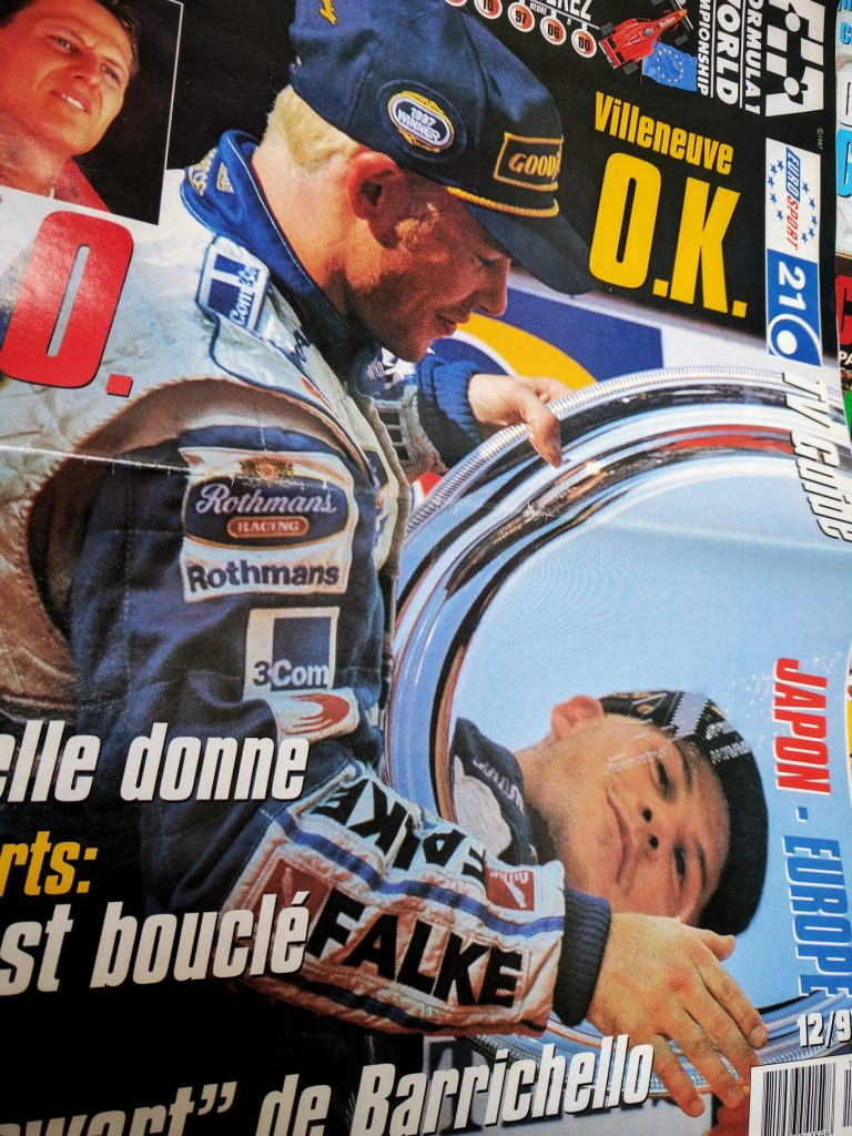 Grand Prix Magasine - 1997 - Jacques Villeneuve - Champion - F1