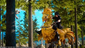 Final Fantasy XV, mon ami Chocobo