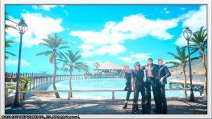 Final Fantasy XV - Arrivée à Galdwin Quay