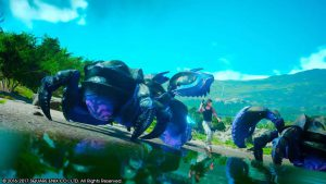 Final Fantasy XV, bagare de homard