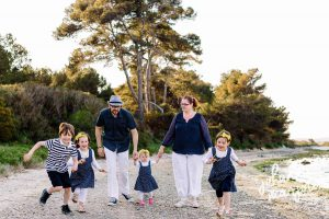 la famille Martin en vacances - Johanna Marjoux