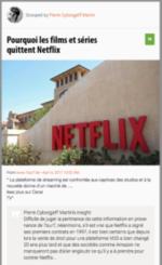 100% e-Media : Pourquoi les films et séries quittent Netflix ?