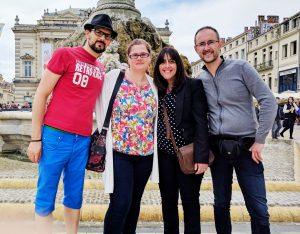 Montpellier, quel plaisir de revoir Didier & Roseline !