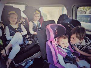 En route pour la séance photo en famille !