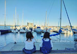Fin de journée à Marseillan Plage