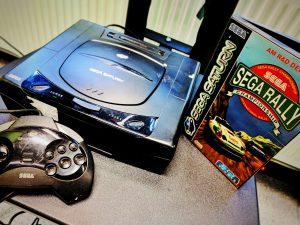 A la découver de la SEGA Saturn et SEGA Rally