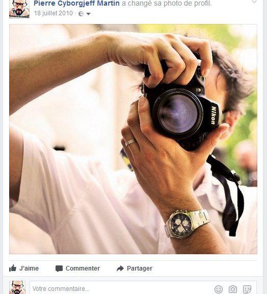 Facebook - juillet 2010