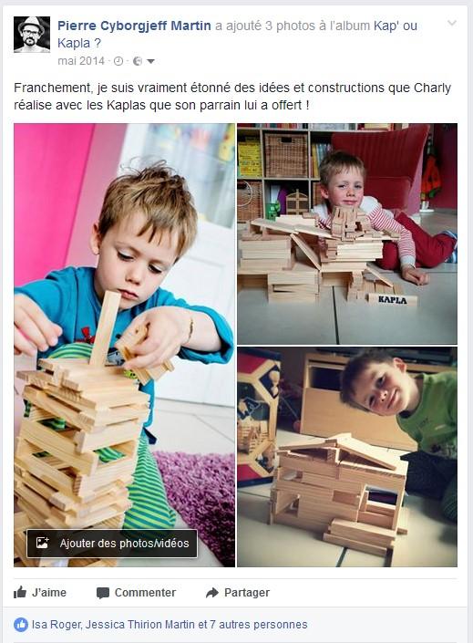 Facebook 2014, Kapla
