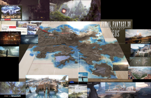 Final Fantasy XV - Map of EOS
