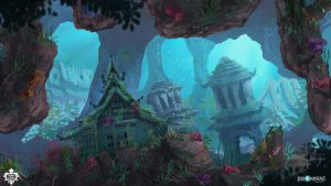 Song of the Deep, concept art réalisé par Sylvain Sarrailh