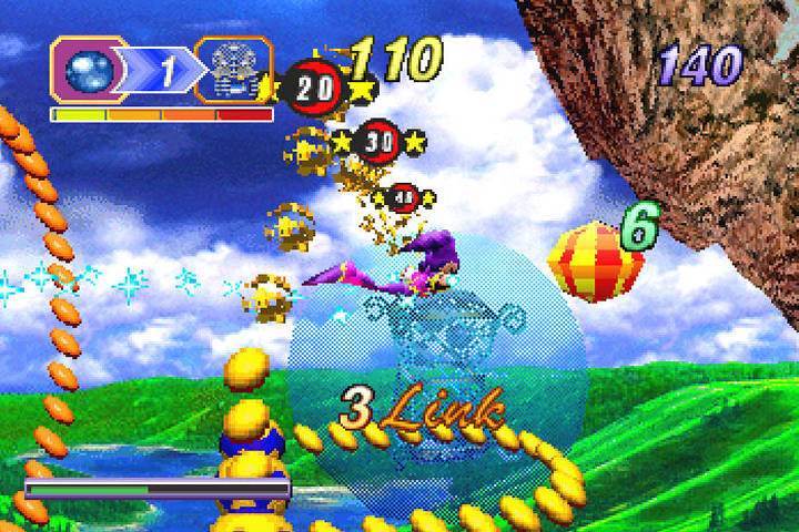 Nights into dreams - Saturn (Sega - Sonic Team, 1996)