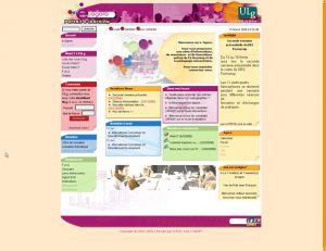 Les projets fous en XOOPS dont le site eAgora en 2006