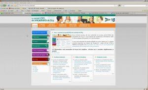 Le nouveau portail de l'IFRES, un design réalisé en 2009