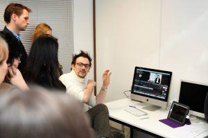 Pierre Martin - Les premières formations Multimédia dans le studio. eCampus - IFRES - ULg (2014)