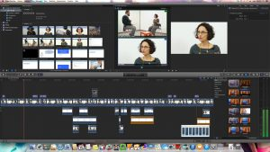 Premier projet d'interview enrichie au studio - eCampus - IFRES - ULg (2014)