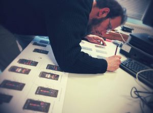 Notre projet de Serious Games dans l'espace - Olivier Borsu, 2015