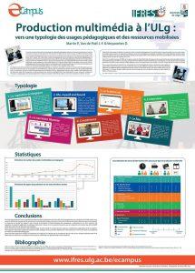 Réflexion autour de la typologie de vidéo pédagogique à l'Université, 2015