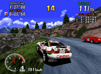 Sega Rally Championship - Saturn (Sega, 1995)