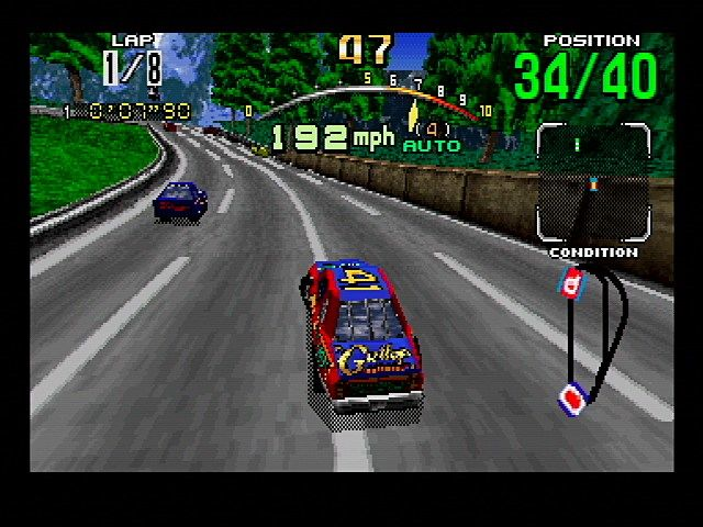 Daytona USA - Saturn (Sega, 1995)