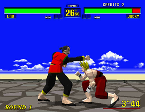 Virtua Fighter - Saturn (Sega, 1995)