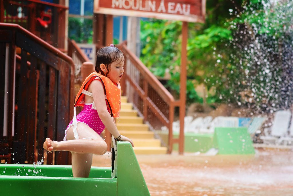 Wouhouuu, c'est trop chouette ici !! – à Center Parcs Le Lac d'Ailette.