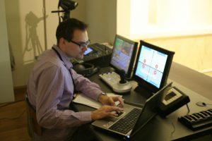 Pierre Martin - Gros streaming vidéo pour le colloque Formadis à la salle académique - LabSET - ULg (2006)