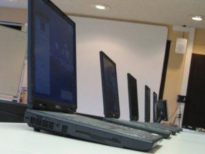 Les premiers ordinateurs portables, ASUS P4 de chez Ordi.com