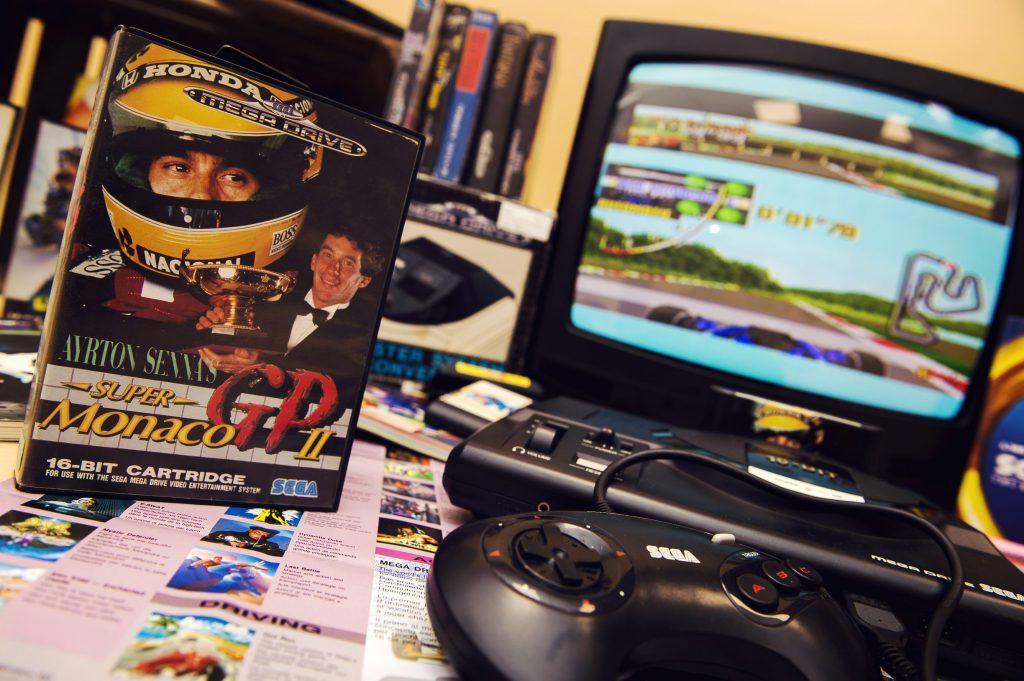 SEGA c'est plus fort que... Ayrton Senna !
