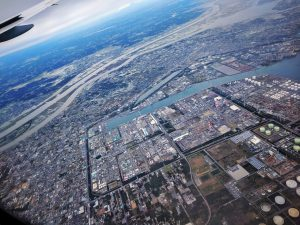 Prêt à atterrir à Tokyo