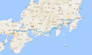 Le Japon d'est en ouest.