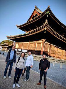 Un esprit sain pour aller plus loin... MoocULiege - Méditation dans le temple bouddhiste Tofukiji dans Kyoto - Bjorn Olaf Dozo - Claire Ghyselen - Jeff Van de Poel - Eric Haubruge