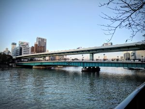 Le double pont d'Osaka