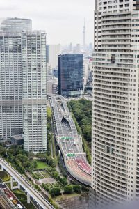 Tokyo vue d'en haut