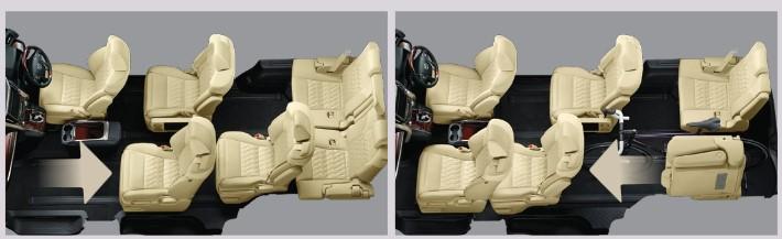 Toyota Vellfire - intérieur