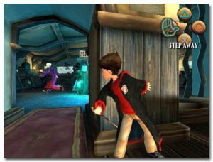 Harry Potter et la chambre des secrets - Playstation (Electronic Arts - Argonauts Games, 2002)