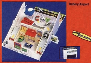 L'aéroport / batterie - Micro Machines, 1989