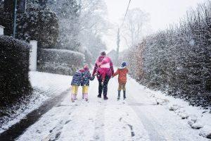 Janvier 2017 - Balade dans Avister sous les flocons