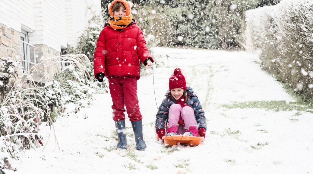 Il neige - Janvier 2018